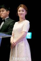 [TF포토] '케이블TV 방송대상', 단아한 미모의 문소리 아나운서