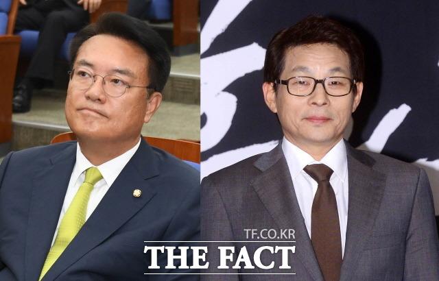지난 16일 세월호 5주기 유가족들에게 SNS를 통해 막말한 자유한국당 차명진 전 의원과 정진석(왼쪽) 의원이 도마에 올랐다. /더팩트 DB