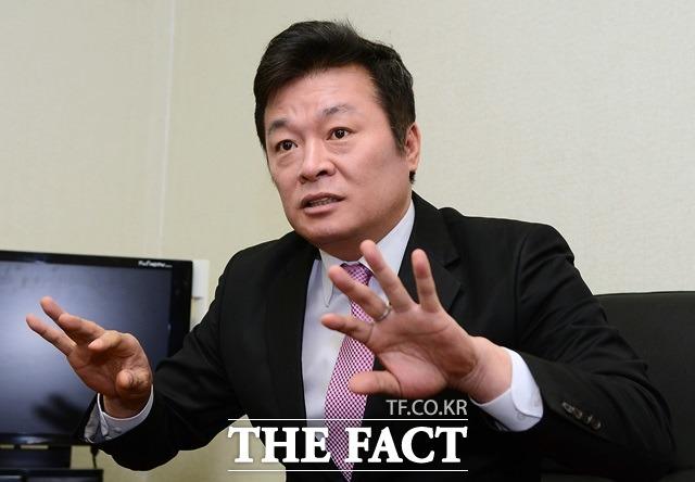 김철근 바른미래당 전 대변인은 국민의당계 전현직 당직자들 대부분이 손 대표 사퇴 의견을 나타냈다고 밝혔다. /더팩트 DB