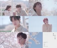 엔플라잉, 신곡 '봄이 부시게' MV 티저 속 진예주와 '알콩달콩'