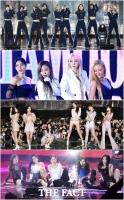[TMA영상] 트와이스-마마무-여자친구, 'TMA 빛낸 ★걸그룹'