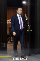 [TF포토] 민주당, 바른미래 공수처법 수용...'굳은 표정의 홍영표'