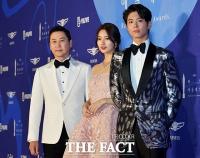 [TF포토] 신동엽-수지-박보검, '백상예술대상을 빛낼 MC들'