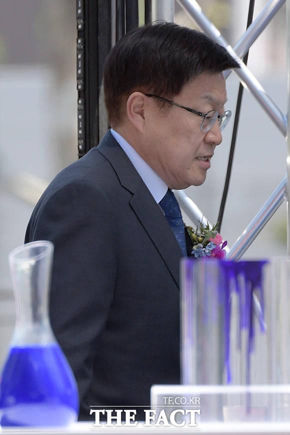 행사장에 참석한 김영주 한국무역협회 회장