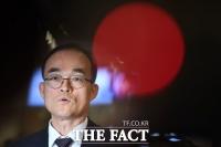 [TF포토] '검·경 수사권 조정' 놓고 조기 귀국한 문무일 검찰 총장