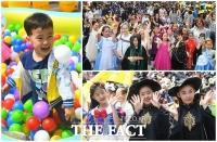 [TF포토] 오늘은 우리가 동화 속 주인공!...'어린이날 서울동화축제'