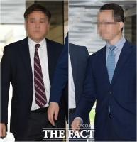 [TF포토] '삼바 증거인멸 지시' 삼성전자 임원 2명 영장실질심사 출석