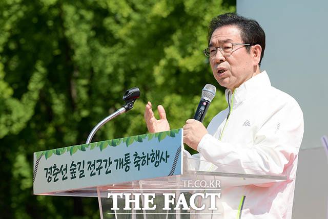 축사하는 박원순 서울특별시장