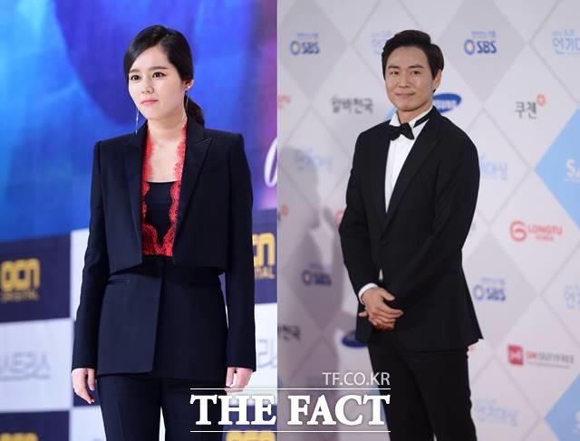 연정훈(우)의 아내이자 배우 한가인이 둘째 아이를 출산했다. /더팩트 DB