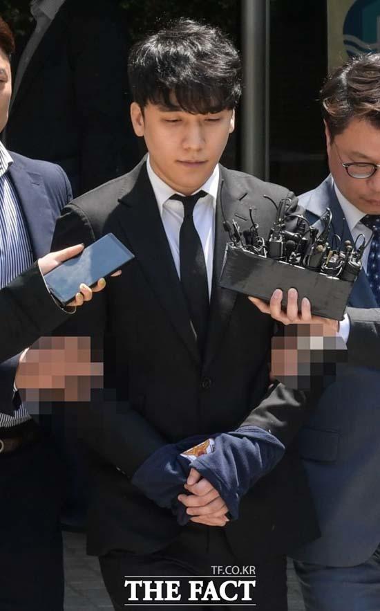 법원이 승리와 유인석 전 대표에 대한 구속영장을 기각했다. /김세정 기자