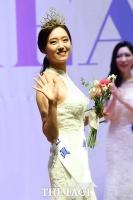 [TF포토] 2019 미스 인천 진 박한슬의 환한 미소