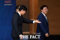 [TF포토] 김기문 중소기업중앙회장, '앞서 걷는 공정경제의 길'