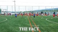 [TF포토] 서귀포리더스FC, '제주도 최초 국제공인 전용 풋살구장 개장!'