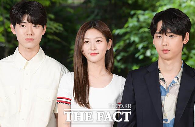 배현성과 김새론, 박정우(왼쪽부터)