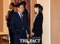 北, 판문점서 김여정 통해 조의문 전달