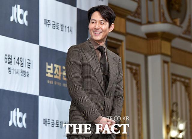 배우 이정재가 JTBC 금토드라마 보좌관로 10년 만에 안방극장에 복귀한다. /이덕인 기자