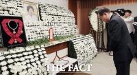 [TF포토] 고 이희호 여사 빈소 찾은 김이수 전 헌법재판관