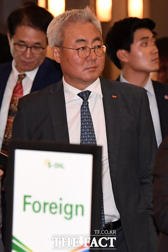 준공식 참석한 김준 SK이노베이션 대표이사