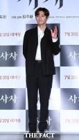 [TF포토] 박서준, '여심 저격하는 블랙 슈트 핏'