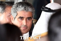 [TF포토] 에쓰오일 준공식 참석한 후세인 알 카타니 신임대표