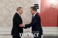 푸틴 또 '지각', 한러정상회담 자정 넘겨 '새벽 회담'