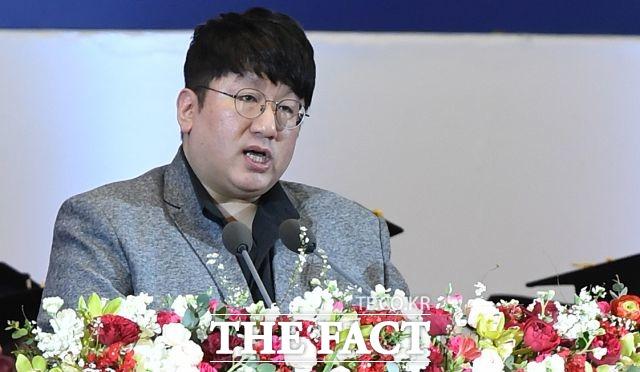 방시혁이 수장으로 있는 빅히트 엔터테인먼트에 민희진 SM 전 이사가 합류하게 됐다. /이새롬 기자