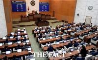 [TF포토] 박원순 공약 '민주주의위원회' 서울시의회 통과