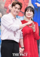 [TF포토] '꿀이 뚝뚝', 임신 7개월차 오상진-김소영 부부