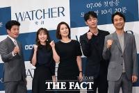 [TF포토] 한석규-김현주-서강준, 경찰 감찰반 변신...'왓쳐 기대하세요!'