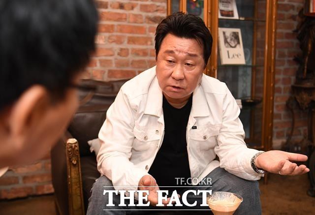 센 이미지, 기회가 주어진다면 범죄 스릴러의 악역을 해보고 싶네요. 임하룡의 스페셜인터뷰는 지난 5일 서울 강남 신사동 카페 애술린라운지에서 2시간 동안 진행됐다. /이새롬 기자