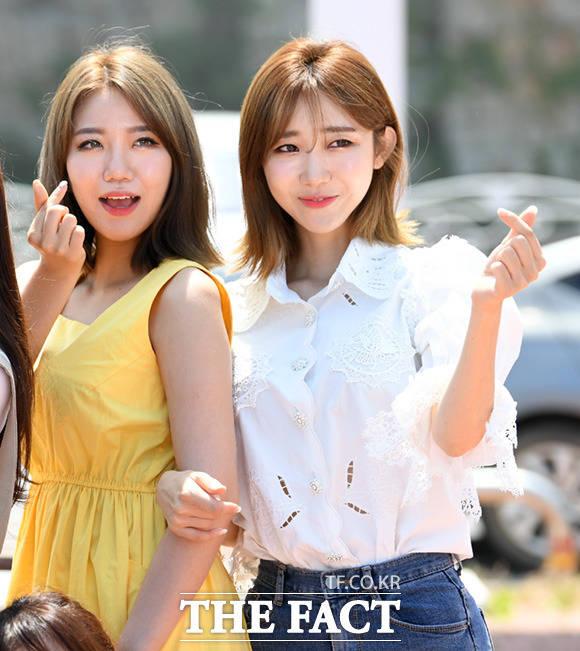 김희진(왼쪽)과 하유비