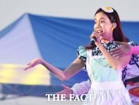 [TF포토] 김나희, '깜찍한 계란프라이 머리띠'