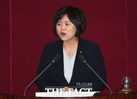 [TF포토] 비교섭단체 대표 연설하는 이정미 정의당 대표