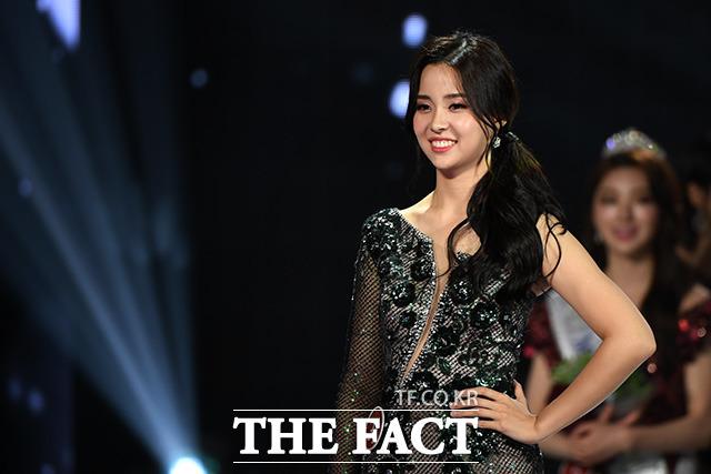 2019 미스코리아 선발대회 진으로 선정된 김세연