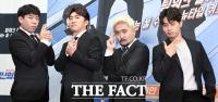 [TF포토] 좌충우돌 팀워크 퀴즈쇼…XtvN 예능 '씬의퀴즈'