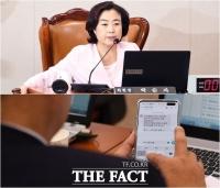 [TF삐컷] '버티기' 박순자, 칭찬 메시지로 '환심 작전?'