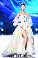 [TF사진관] 성상품화 시킨 미스코리아 '낯뜨거운 한복코르셋 쇼'