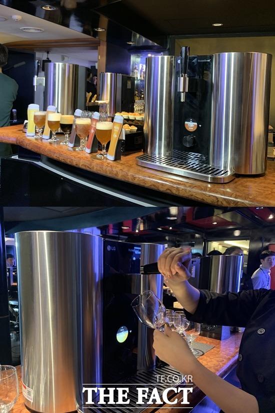 [TF현장] LG '홈브루', 맥주 마니아 홀린다…가격·규제는 '변수'