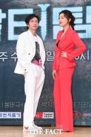 [TF포토] 봉태규-박진희, '여유 넘치는 포토타임'