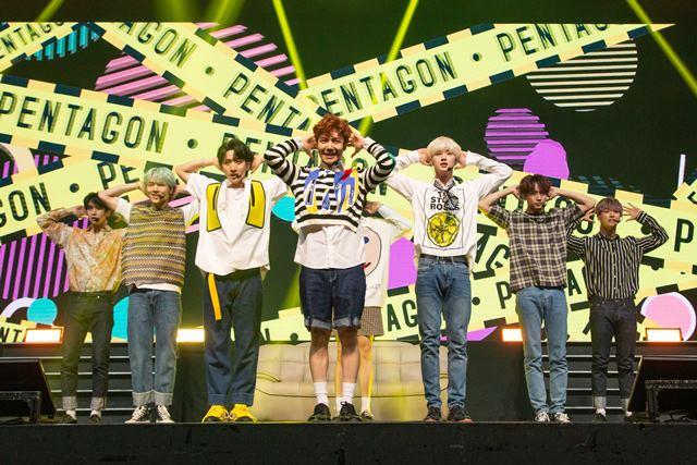 펜타곤이 신곡 접근금지를 발매하며 여름 활동을 펼친다. /큐브 엔터테인먼트