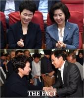 [TF사진관] '이언주 찾은 황교안-나경원'