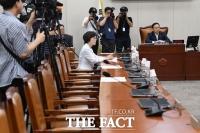 [TF사진관] 민주당 의원들 지각에 난감한 홍영표 정개특위 위원장