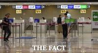 [TF사진관] '보이콧 일본'...발길 끊긴 일본행 비행기