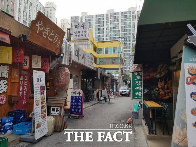 서울시 용산구 동부이촌동의 재팬타운은 1965년 한일 국교 정상화 이후 이주한 일본인 주민 1000여 명이 거주 중이다. /동부이촌동=송주원 기자