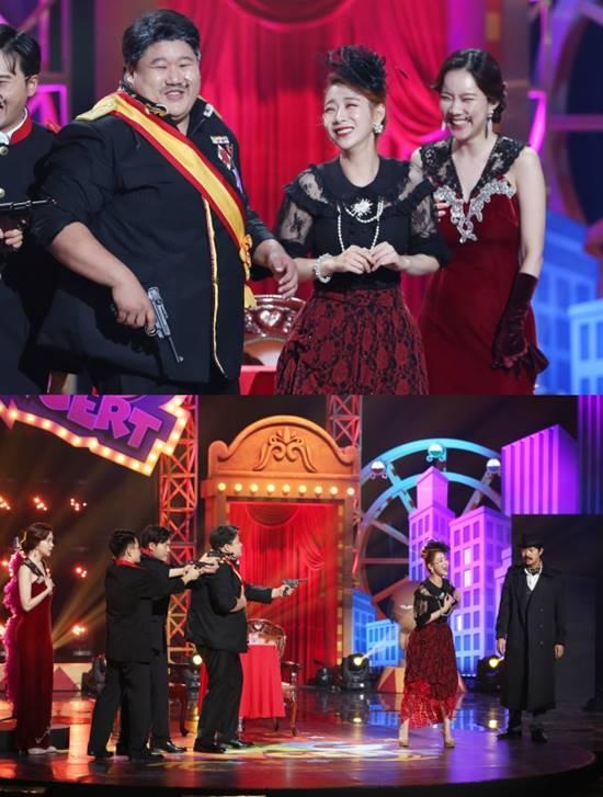 김나희가 출연하는 개그콘서트는 오는 11일 오후 9시 15분에 방송된다. /KBS2 제공