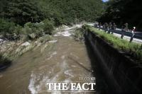 강릉 폭우 실종 모자, 끝내 숨져…유족이 발견