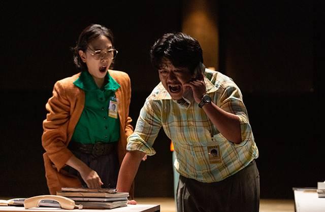 김한종은 연극 미인도에서 미술관 직원 이성원 역을 맡아 열연했다. /곰곰 제공