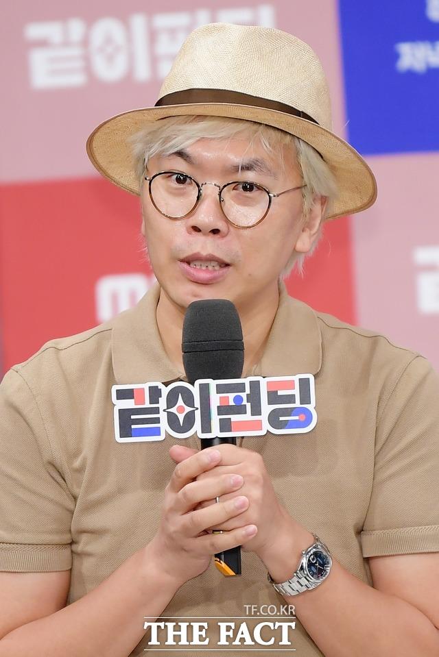 지난해 무한도전 종영 후 돌아온 김태호 PD가 올해 놀면 뭐하니?와 같이 펀딩 두 프로그램을 공개했다. /이선화 기자