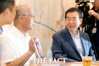 [TF포토] 일본 시민단체 '희망연대'와 만난 박원순 서울시장