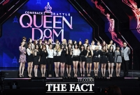 [TF포토] 걸그룹 대전쟁!…Mnet 예능프로그램 '퀸덤'
